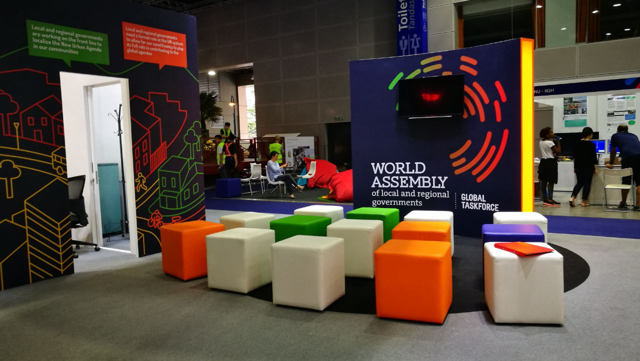 image of the World Assembly Stand