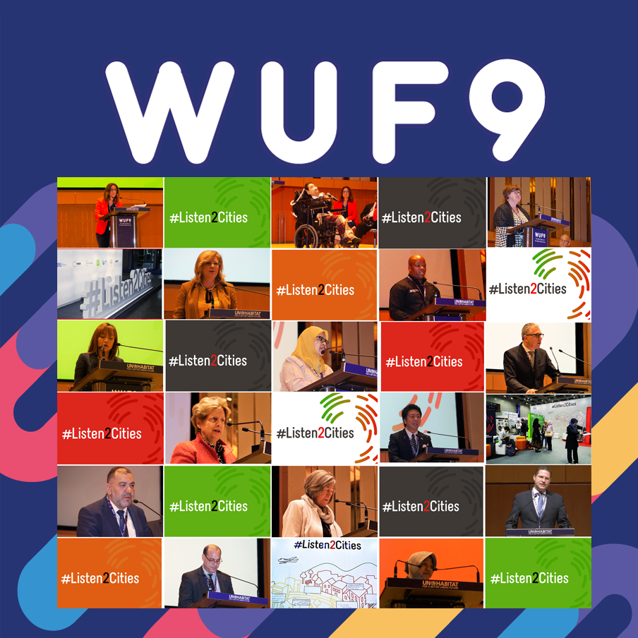 collage of the speakers at the wuf