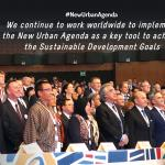 New Urban Agenda first anniversary